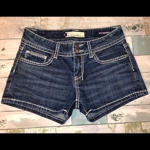 Vigoss Women's Fit Jeans Shorts Size 28